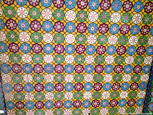 Tile Work at Erbil Citadel