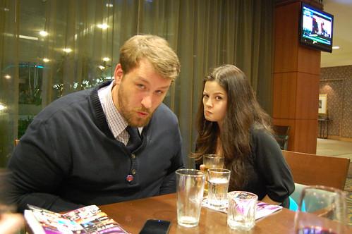 joe and tessa!