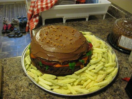 Berger Pit Fun Run cake