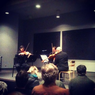 The Free Marz Trio at Community Music Center tonight. Superb playing!