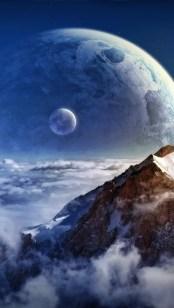 天界の眺め