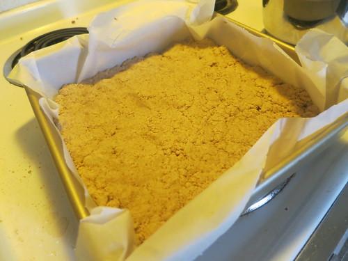 Whole wheat almond butter fah sang peng
