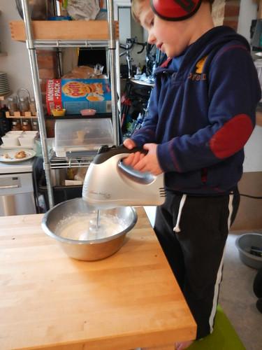 Cooking Day - whisking