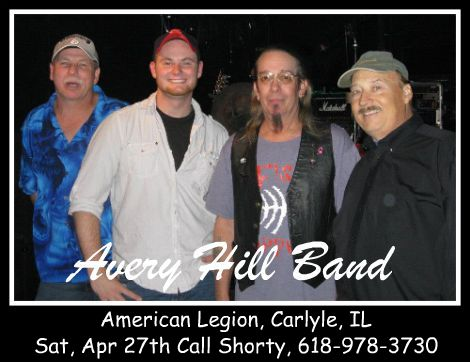 Avery Hill Band 4-27-13