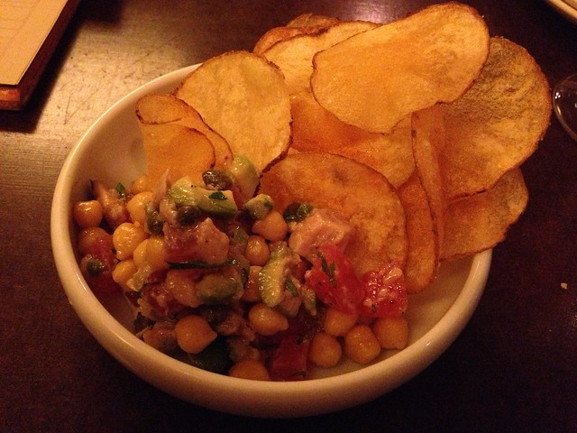 Tuna dip and chips - State Bird Provisions