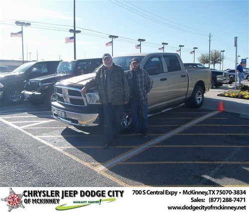 Dodge City of McKinney would like to say Congratulations to Richard Fiely on the 2011 Dodge Ram by Dodge City McKinney Texas