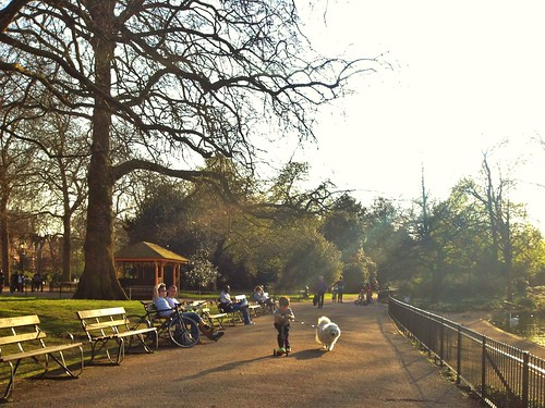 Spring at Battersea Park, London