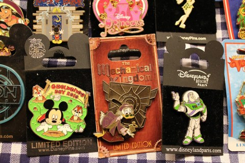 Mechanical Kingdom pin
