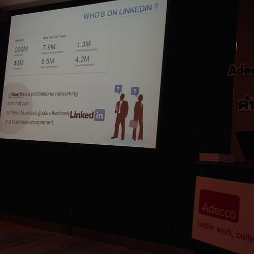 LinkedIn ก็สำคัญ เป็น Professional Networking #waytowork