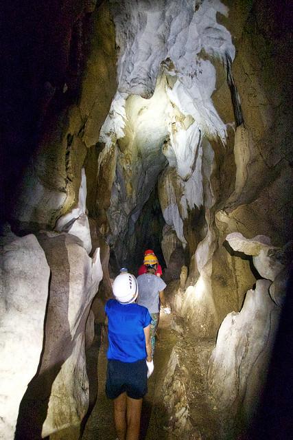 Trekking through a Hundred Caves.