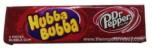 Wrigley's Hubba Bubba Dr Pepper Bubble Gum