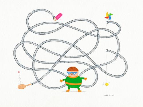 """DWA 2013 Art Auction: """"Doctor Octopus"""" by John Martz"""