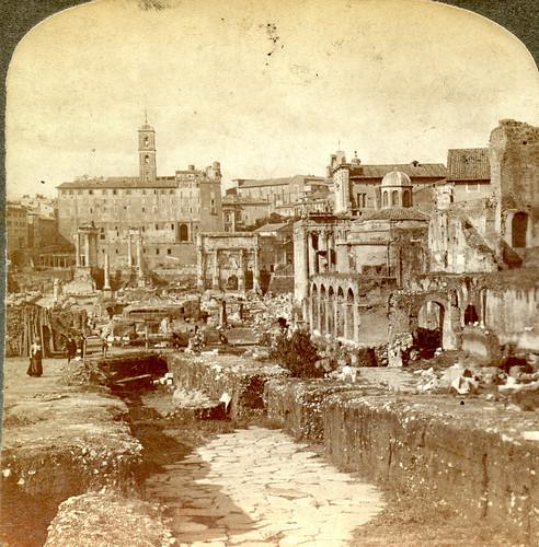 ROMA ARCHEOLOGIA e BENI CULTURALI: IL FORO ROMANO, NUOVI SCAVI (ca. 1898-1903), in: IUPPITER STATOR IN PALATINO RITROVATO (2012-13). by Martin G. Conde