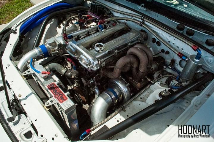 Miata dragster engine