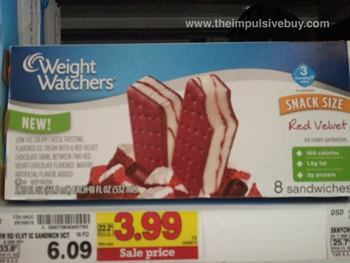 Weight Watchers Red Velvet Ice Cream Sandwiches