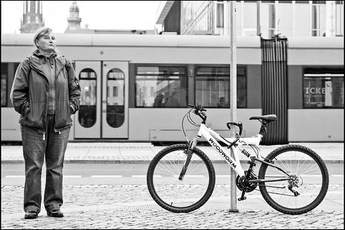 Skepsis mit Rad