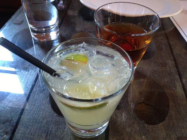 Caipirinha and Manhattan cocktails - Bossa Nova