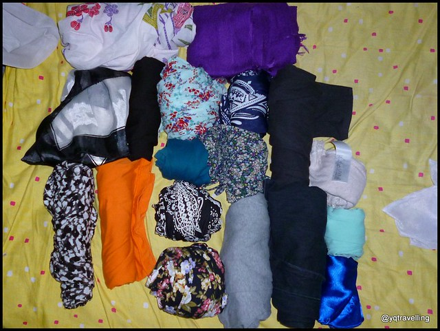 Clothes for a 4-month round the world