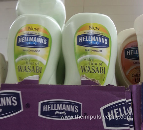 Hellmann's Mayonnaise with a Hint of Wasabi