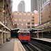 Barbican - train leaving station