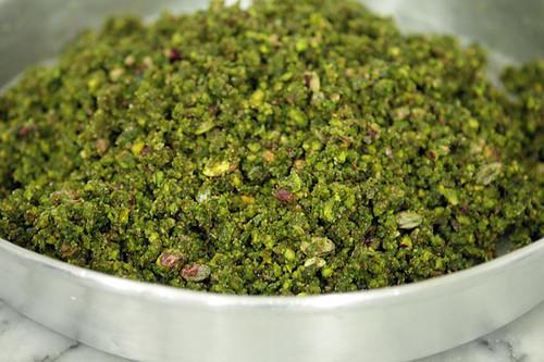 ground iranian pistachios
