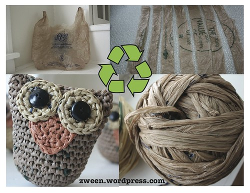 plarn recycle poster