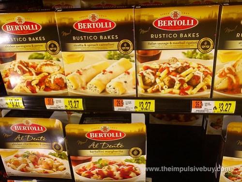 Bertolli Rustico Bakes and Al Dente