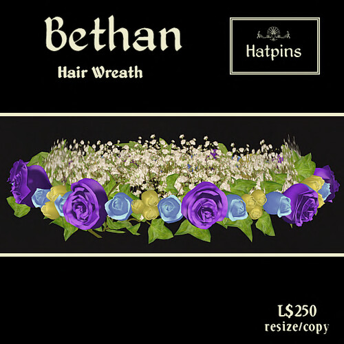 Hatpins - Bethan Hair Wreath - Easter Roses - copy_mod_resize