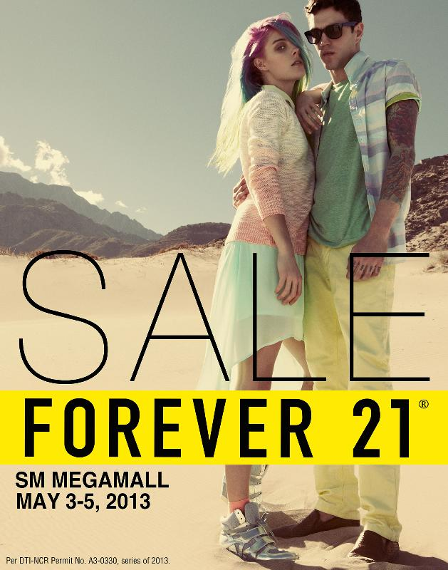 Forever 21 Megamall Sale