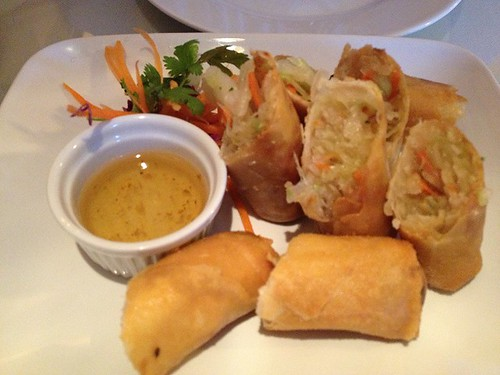 Fried Thai Spring Rolls