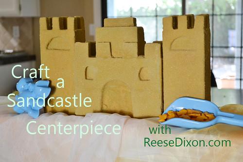 Sandcastle Centerpiece