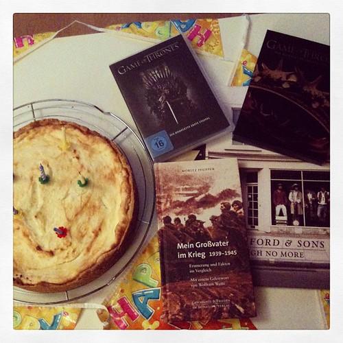 Geschenke & Kuchen :)
