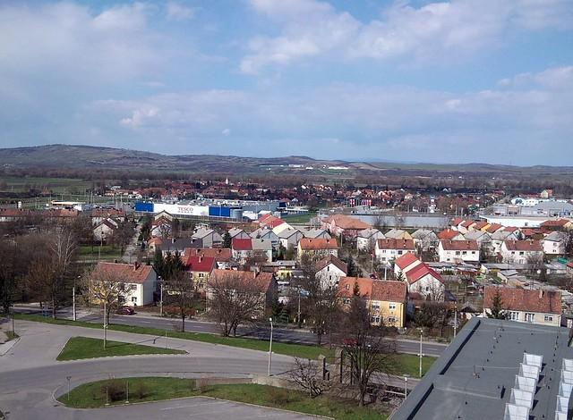 Kazincbarcika from above