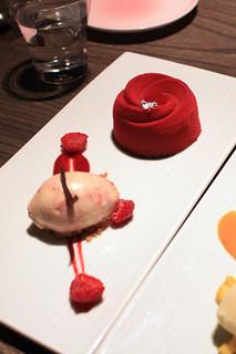 Yauatcha - Raspberry Delice
