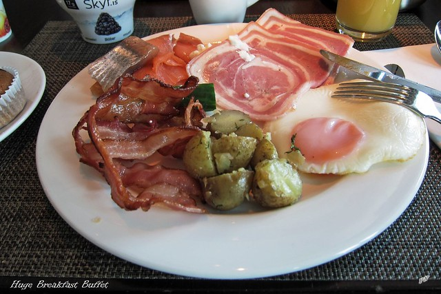 Huge Breakfast Buffet