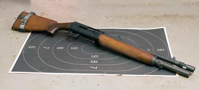 Rare H&K shotgun, the 512