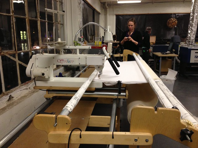 long-arm sewing machine