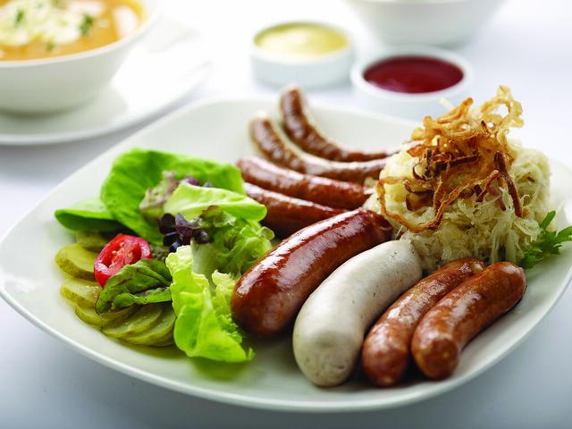 Brotzeit Sausage Platter