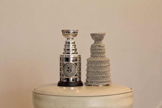 Knitted Stanley Cup