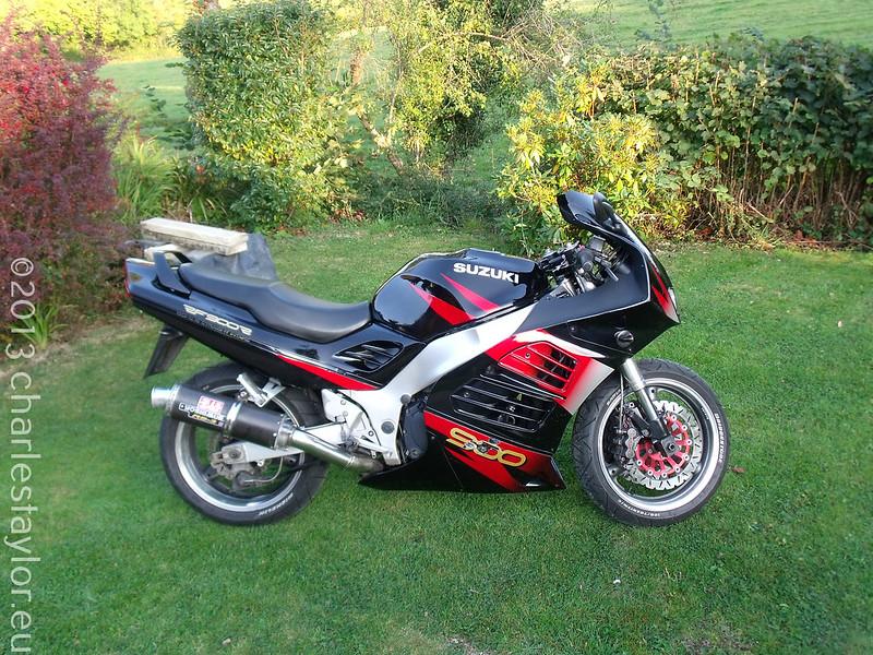2. Day of Purchase – Suzuki RF 900 (2009)