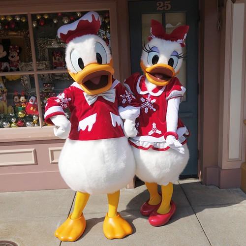 ドナルドさんとデイジーさん。#tw