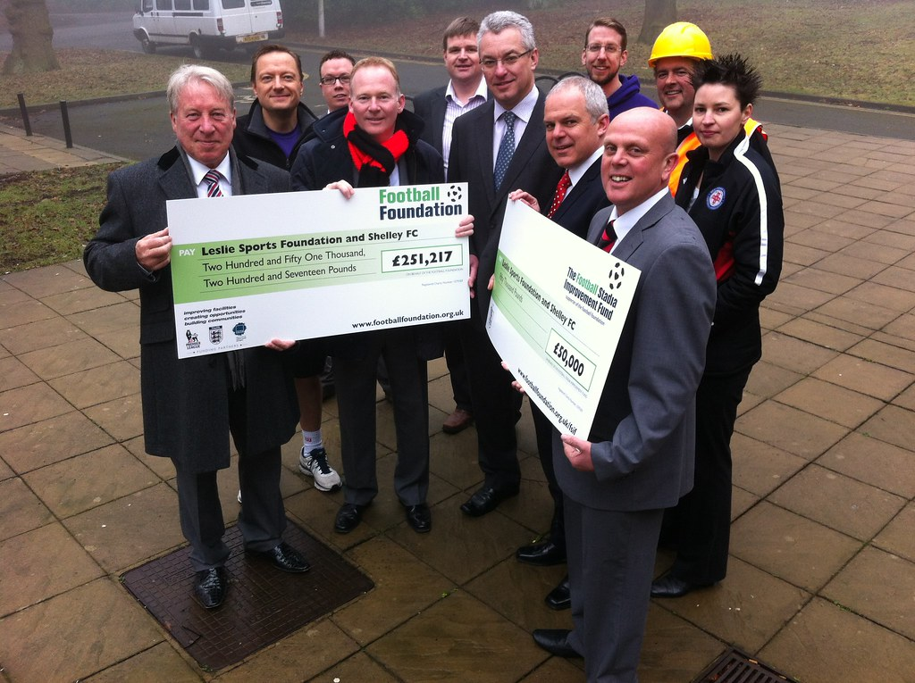 Cash Boost for Football Facilities