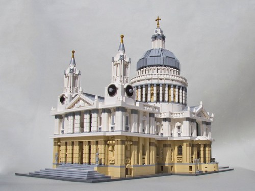 St Pauls Cathedral In London The Brothers Brick The Brothers Brick