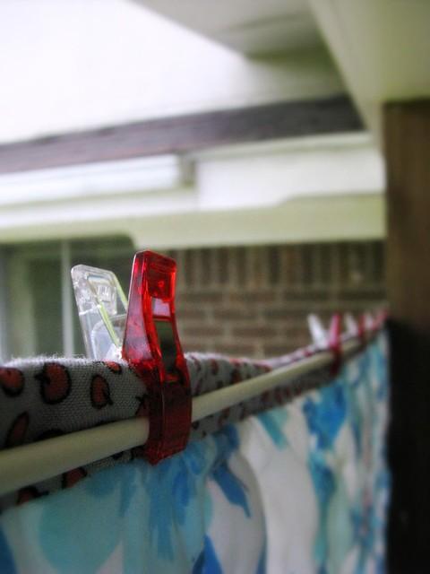 Retractable Clothesline Binder Clips