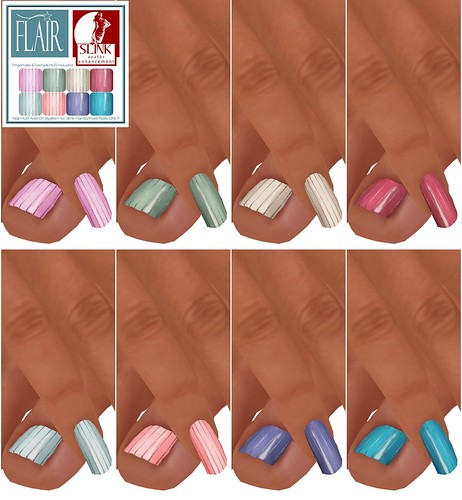 Flair - Nails Set 30