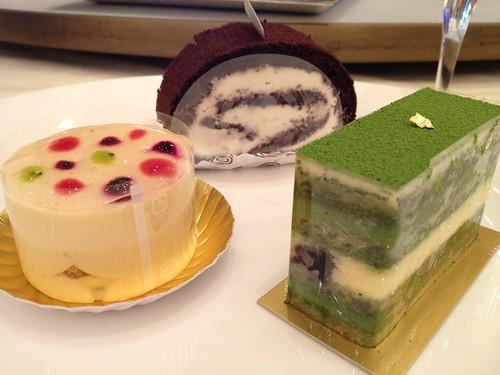 選んだケーキたち@スイーツマリアージュ
