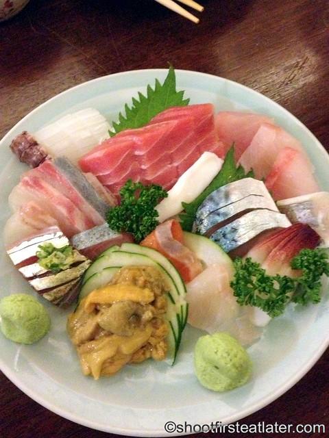 mixed sashimi ume P890