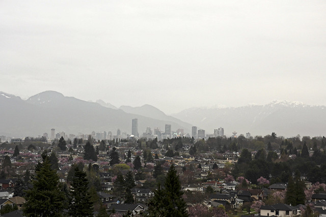gray day in vancouver