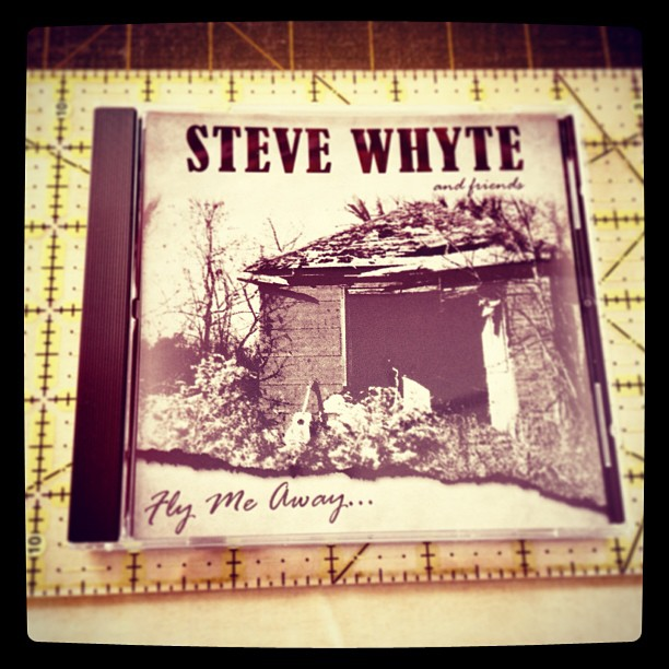 May 1 - I bought this {CD by local artist} groovin' while cutting & sewing! #fmsphotoaday #music #stevewhyte #madoc #local