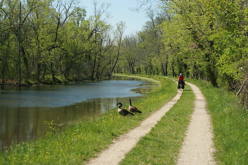 C&O canal bicycle touring
